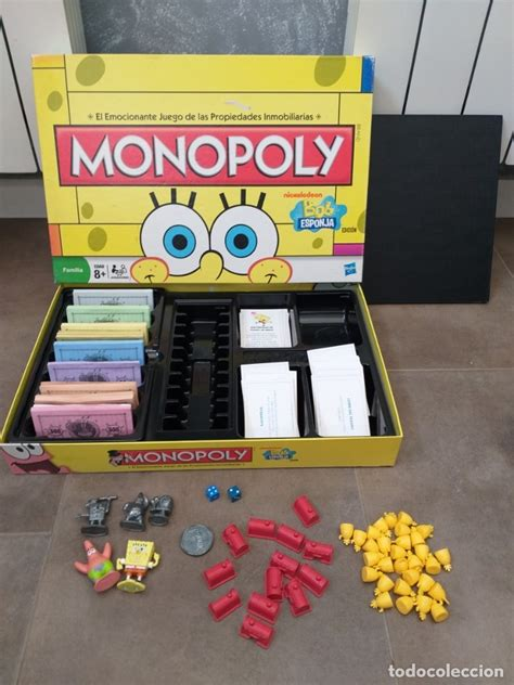780 likes · 1 talking about this. juego de mesa monopoly bob esponja hasbro - Comprar Juegos ...