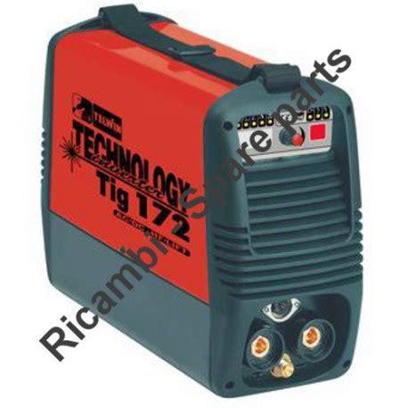 telwin parts for inverter technology tig 172 ac dc hf lift 230v