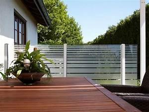 windschutz und sichtschutz With garten planen mit balkon windschutz glas
