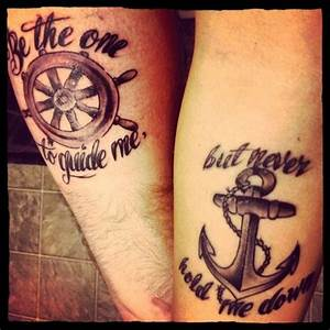 50 Cute Matching Couple Tattoo Ideas | Tatts | Pinterest ...
