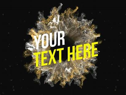 Reveal Text Effects Shockwave Intro Clean Animation