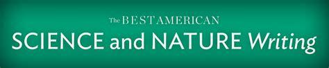the best american science and nature writing series hmh