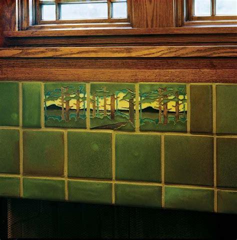 bungalow makeover craftsman tile craftsman interior