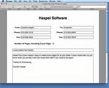 How To Fax From Mac Print Free Fax Cover Letter Cover Letter Fax Cover Letters Free Fax Cover Sheet Microsoft Office Fax Cover Sheet
