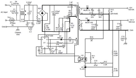 dnd reference design ac  dc multi output power