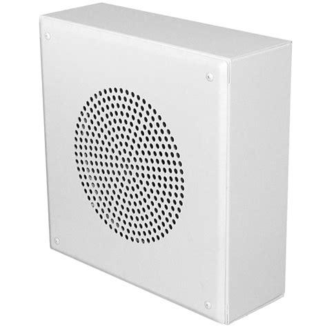 spkr vp  white indoor outdoor surface mount speaker