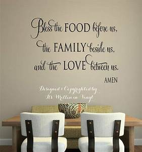 Christian wall stickers quotes vinyl decal home for Kitchen wall sayings vinyl lettering