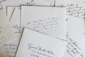 calligraphy envelope addressing etiquette questions With hand addressing wedding invitations etiquette