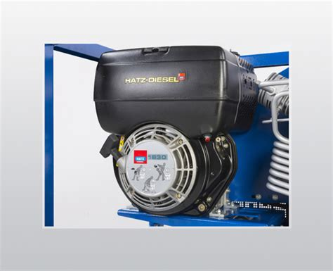 mariner diesel breathing air compressor diving ship lease compressor 170 l min up to 330 bar