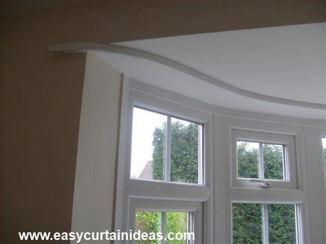 Bendable Curtain Rod For Bay Window by 25 Best Ideas About Bay Window Pole On