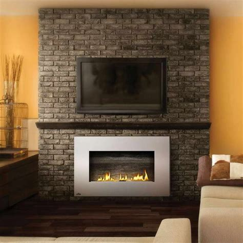 gas fireplace mantel gets 17 best ideas about ventless propane fireplace on