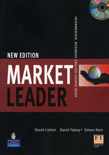 market leader  edition  book  cd rom