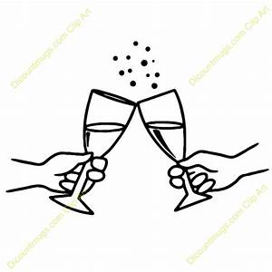 Clip Art Wedding Toast Clipart - Clipart Suggest