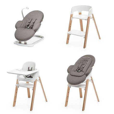 chaise steps stokke stokke steps modular seating system grows with baby