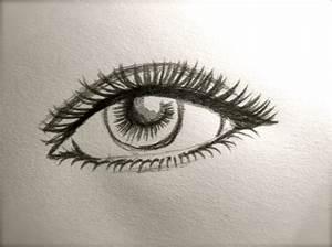 Dessin Facile Yeux : tutorial comment dessiner un oeil mimosa et tralala avec beau dessin facile a dessiner idees et ~ Melissatoandfro.com Idées de Décoration