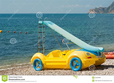 Fancy Boat by Fancy Pedal Boat Royalty Free Stock Photos Image 20323688