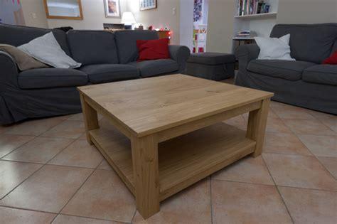comment fabriquer une table basse en bois portrait de bricoleur de alexandre du travailler le bois