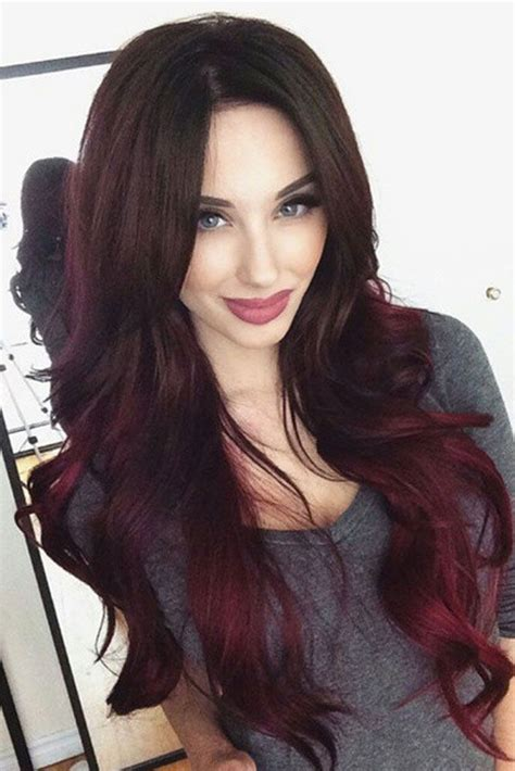 Darker Hair Styles by 17 Great Ombre Styles For Darker Ombre Hair Black Hair