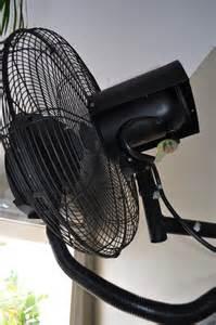 misting fans wall mounted tornado 51cm climate australia