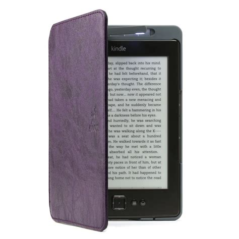 Kindle With Light by Lighted Kindle Purple