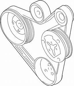 2003 Volkswagen Jetta Wagon Ribbedbelt  Serpentine Belt  1