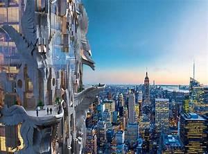 wordlessTech Futuristic Sculptural Skyscraper in NYC