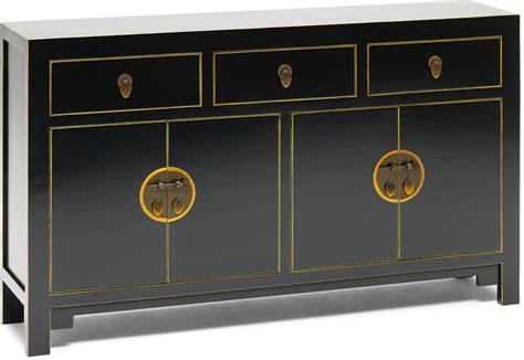 Sideboard And Display Cabinet by Large Classic Sideboard Black Sideboards