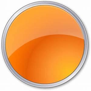 Circle, orange icon   Icon search engine