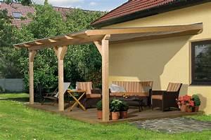 Terrassen berdachung holz bausatz weka summer for Terrassenüberdachung holz bausatz