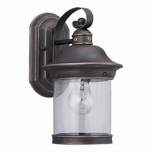 shop sea gull lighting hermitage 135 in h antique bronze With lowe s canada outdoor light fixtures
