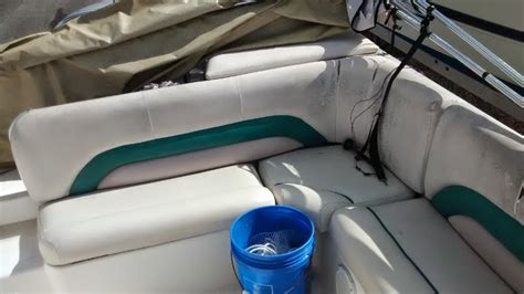 Pontoon Upholstery Repair by Marine Upholstery Auto Styles