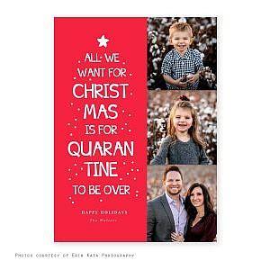 quarantine  holiday card squijoocom