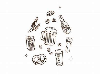 Beer Doodles Doodle Animated Dribbble Animation Icon