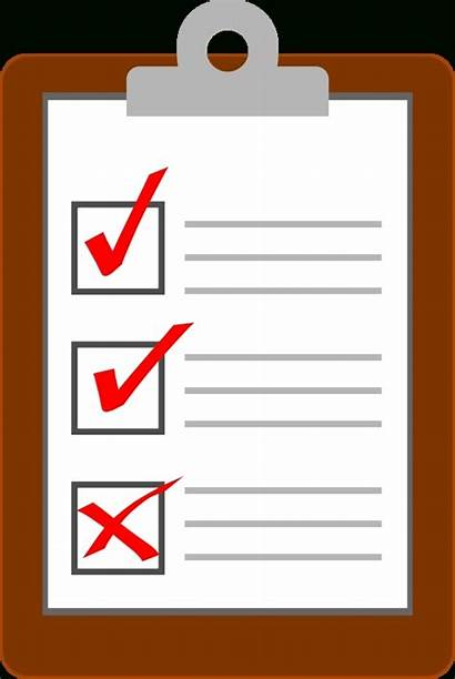 Checklist Clipart Personal Clip Clipboard Clipartix Projects