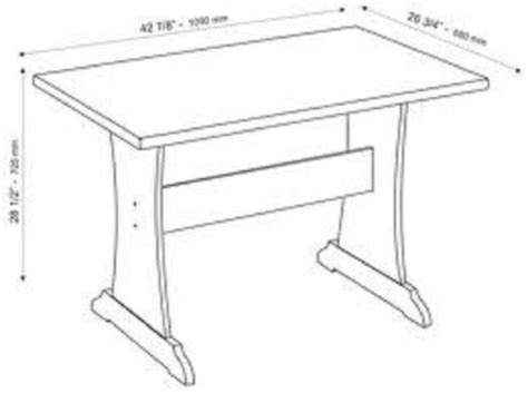 standard kitchen table sizes how is a dining room table get furnitures for home