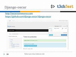 python para desarrolladores web With django oscar templates