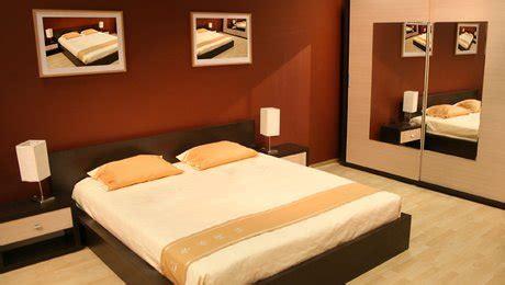 chambre orange et marron deco chambre peinture peinture chambre et blanc