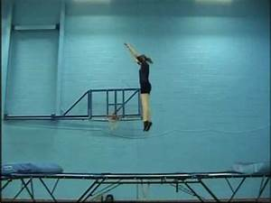 Trampoline Central Tuck Jump Demo - YouTube