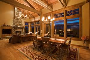mountain mansion traditional dining room portland by complements home interiors