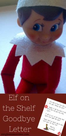 elf on the shelf letters printable on the shelf goodbye free printable letter http 21466 | 7ce9eaa00eed078080d7e8d74df0c212 printable letters free printable
