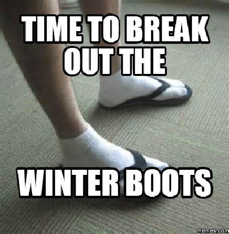 Winter Meme - how buy winter boots for men