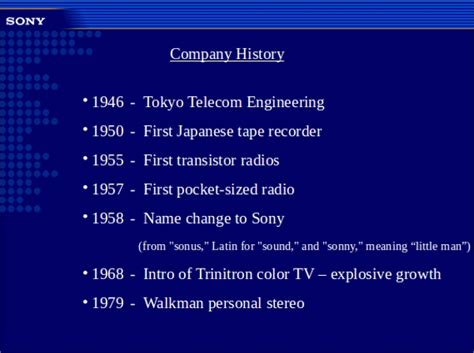sample company history template   documents