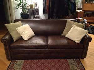 traditional living room with leather sofa craigslist couch
