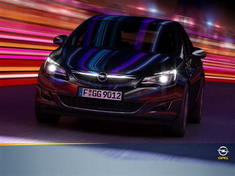 Opel Astra Background