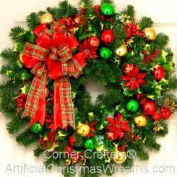 holly jolly christmas wreath artificialchristmaswreaths com christmas wreaths