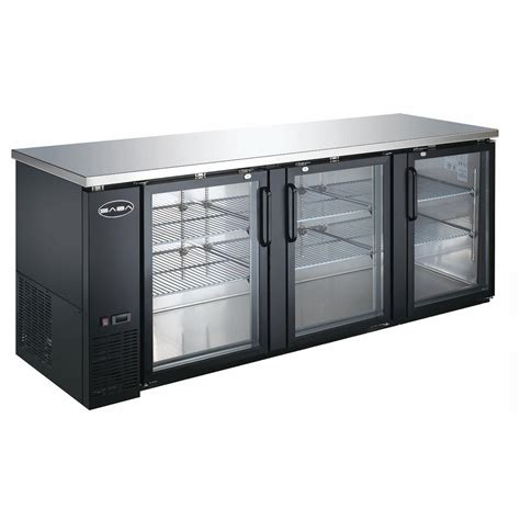 Home Bar Refrigerator by Saba 90 5 In W 32 Cu Ft Commercial Back Bar