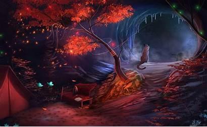 Fantasy Landscape Wallpapers Backgrounds Wiki Deviantart Background