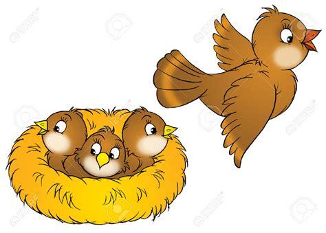 Bird's Nest Clipart Animated