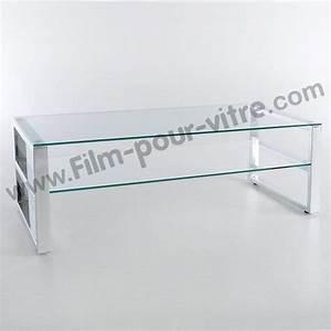 Verre Sur Mesure Pour Table : film protecteur pour table en verre film protection pour ~ Dailycaller-alerts.com Idées de Décoration