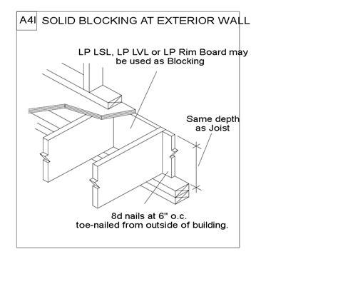 solid blocking floor joists meze blog